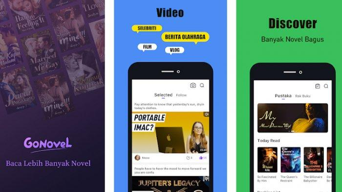 3 Aplikasi Penghasil Uang dari Baca Novel