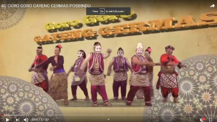 Video 4G Goro-Goro Gayeng Germas Beredar di Youtube, Kadinkes Jateng Jadi Tokoh Sentral