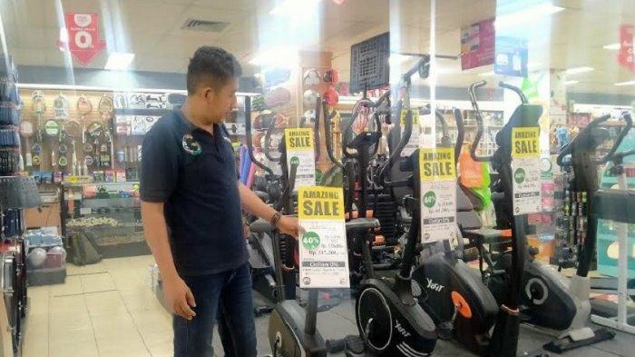 Gramedia Pandanaran Semarang Tebar Diskon 40 Persen Pembelian Alat Fitness