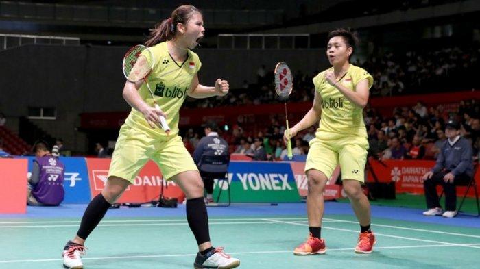 Jadwal Bulu Tangkis Olimpiade Tokyo 2021, Greysia Polii/Apriyani Rahayu Akan Melawan Malaysia
