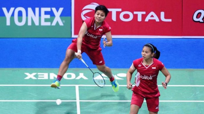 Hasil BWF World Tour Finals 2020, Greysia/Apriyani Tumbangkan Ganda Putri Korea Selatan