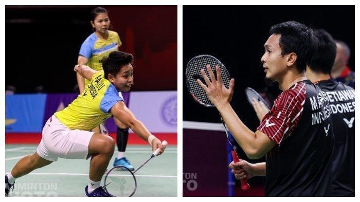 Ahsan/Hendra dan Greysia/Apriyani Live TVRI, Ini Jadwal Siaran Langsung Semifinal Thailand Open