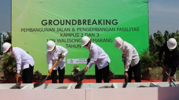 Kembangkan Lahan Tidur, UIN Walisongo Semarang Bangun Fasilitas Jalan