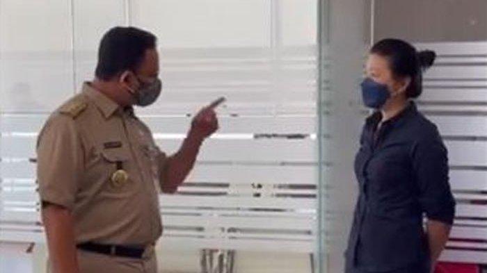 Anies Baswedan Ngamuk Sambil Tunjuk Muka Diana HRD: Sekarang Tutup Kantornya!