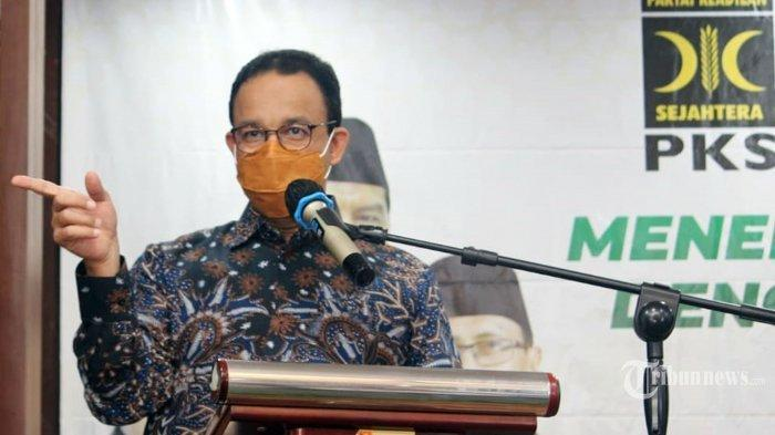 Anies Perpanjang PSBB Transisi Jakarta hingga 21 Desember, Minta Warga Disiplin Prokes