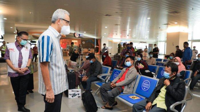 Banyak Penerbangan Batal, Pekerja Migran yang Pulang ke Jateng Tak Sebanyak Perkiraan Awal