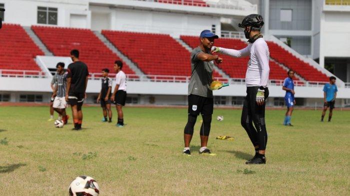 Gubernur Ganjar Ajak PSIS Junior U-20 Jajal Latihan di Stadion Jatidiri
