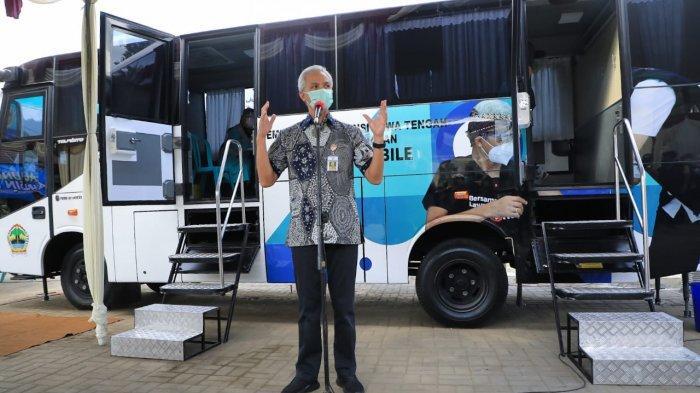 Luncurkan Bus Vaksin, Ganjar Berharap Bisa Jangkau Daerah Terpencil