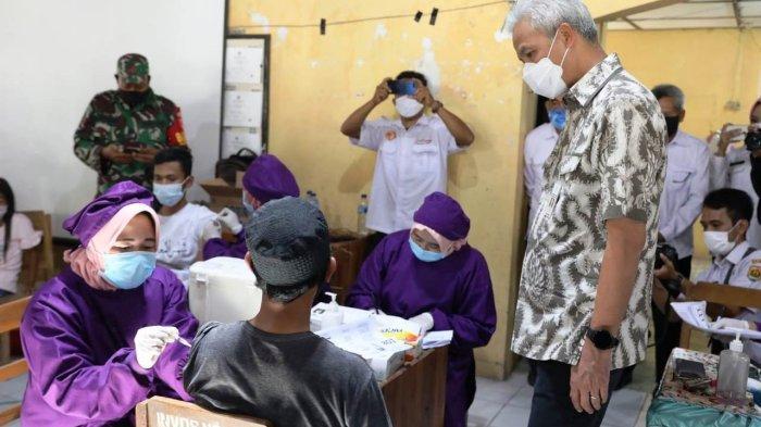 Capaian Vaksinasi Masih Rendah, Grobogan Jadi Perhatian Gubernur Ganjar Pranowo