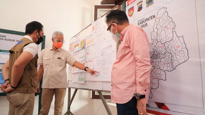 Ganjar Sebut Kudus Tak Lagi Jadi Zona Merah Corona, Peningkatan Kasus di Banjarnegara