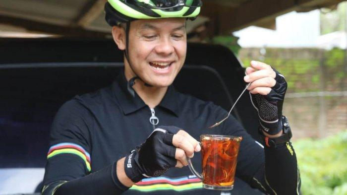 Gubernur Ganjar Pranowo Pernah Pingsan saat Bersepeda, Begini Ceritanya
