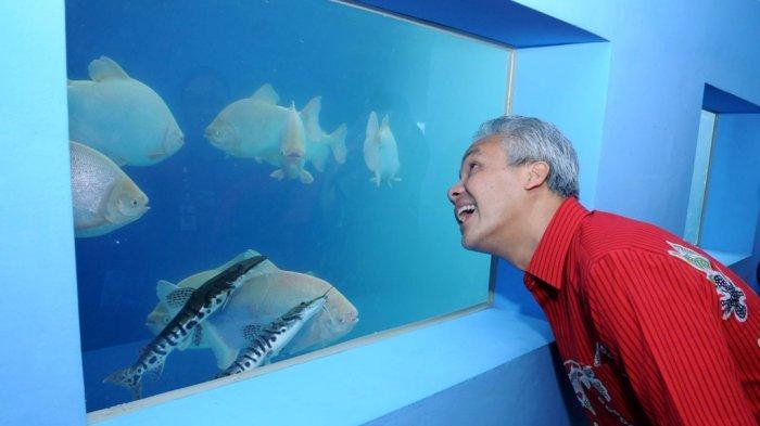 Gubernur Ganjar Pranowo Resmikan Boyolali Aquatic di Tlatar