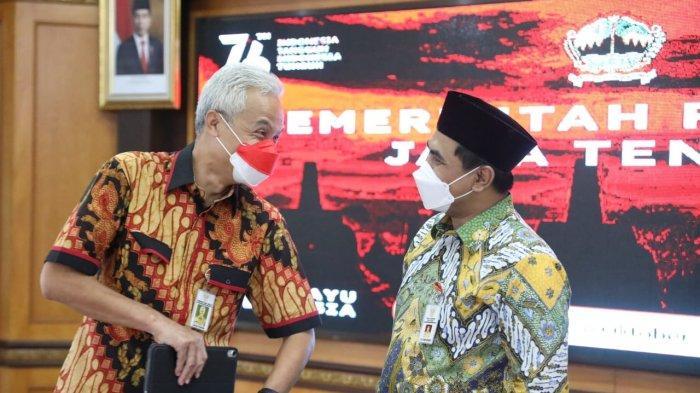 Percepat Penanggulangan Kemiskinan Ekstrem 5 Daerah di Jateng, Gubernur Ganjar Bentuk Satgas Khusus