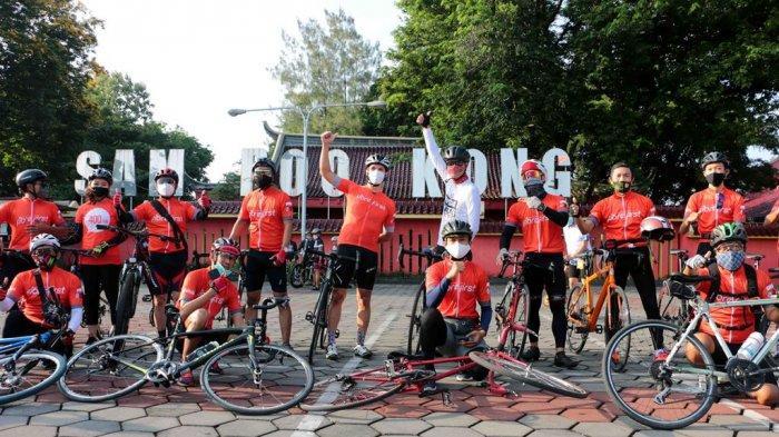 Ganjar Bersama FibreFirst Cycling Ajak Masyarakat Semarang Berdonasi Lebih dengan Fibre Bike
