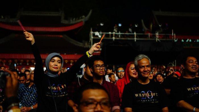 Sam Poo Kong Jadi Destinasi Terakhir Tur Konser Westlife di Indonesia