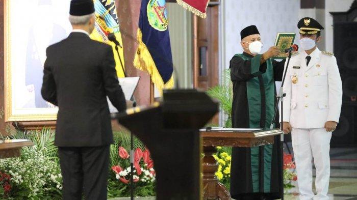 Saran Ketua PCNU Kudus untuk Hartopo Seusai Dilantik Jadi Bupati Oleh Ganjar