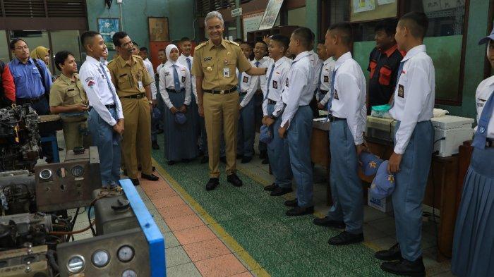 Zona Merah Akan Jadi Prioritas Gubernur Jateng Ganjar untuk Menambah 15 SMK Negeri Jateng