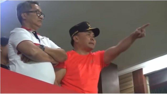 Viral Gubernur Kalteng Lempar Botol saat Laga Kalteng Putravs Persib Bandung, Ini Kronologinya