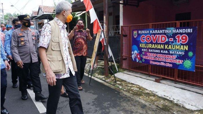 Apresiasi PPKM Skala Mikro di Batang, Ganjar: Ini Contoh yang Sudah Siaga Penuh