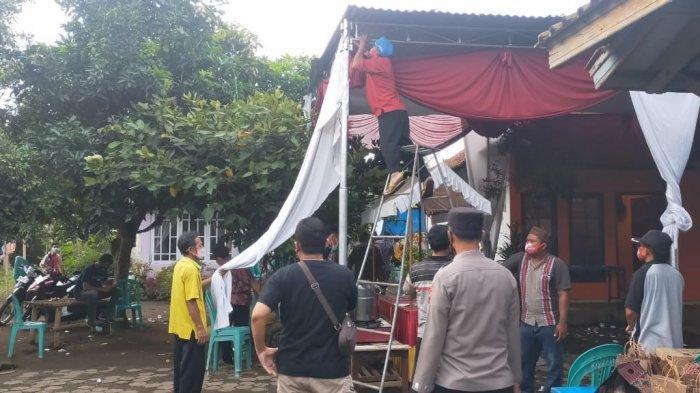 Dianggap Menimbulkan Kerumunan, Hajatan di Kesugihan Cilacap Dibubarkan Paksa Satgas Kecamatan