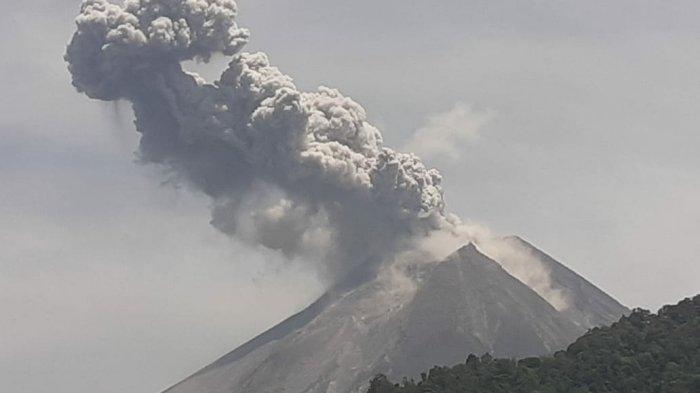 Pernyataan Resmi BPPTKG Terkait Letusan Erupsi Gunung Merapi Hari Ini
