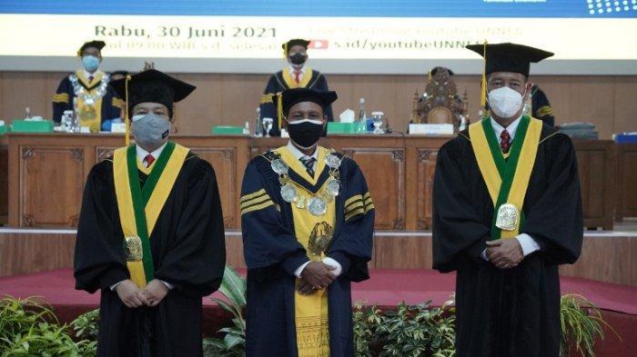 Di Tengah Keterbatasan Pandemi, Unnes Kukuhkan Dua Guru Besar Baru, Rektor: Kita Patut Bersyukur