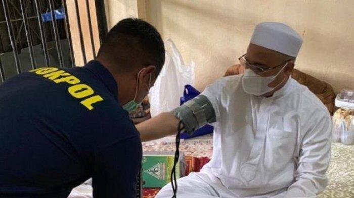 Habib Rizieq di dalam penjara