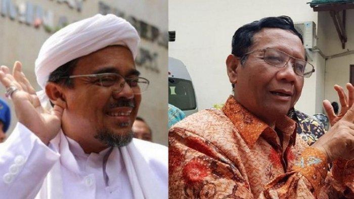 SP3 Kasus Chat Mesum Rizieq Shihab Dibatalkan, Mahfud MD: Kata Polri Proses Hukum Harus Diteruskan