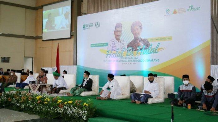 Halalbihalal UIN Walisongo, Rektor Ajak Civitas Akademika Komitmen pada Negara dan Tradisi Walisongo