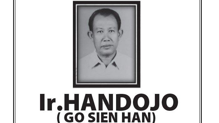 Kabar Duka, Ir Handojo (Go Sien Han) Meninggal Dunia di Semarang