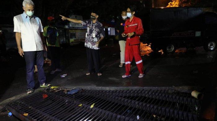 Hanya 1,5 Jam, Banjir di Kantor Gubernur Jateng Jalan Pahlawan Semarang Langsung Surut