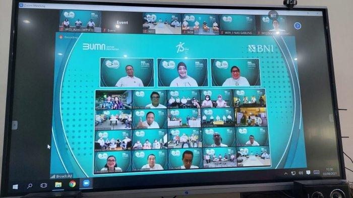 Harpelnas 2021, BNI Sajikan Ekosistem Layanan Digital
