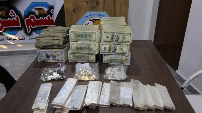Terbongkar Kotak Berisi Harta Karun ISIS di Irak Senilai Rp 21 Miliar: Ada Emas, Uang, dan Perak