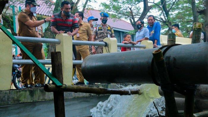 HM Hartopo Kerahkan 6 Pompa Air Atasi Banjir Limpasan Sungai
