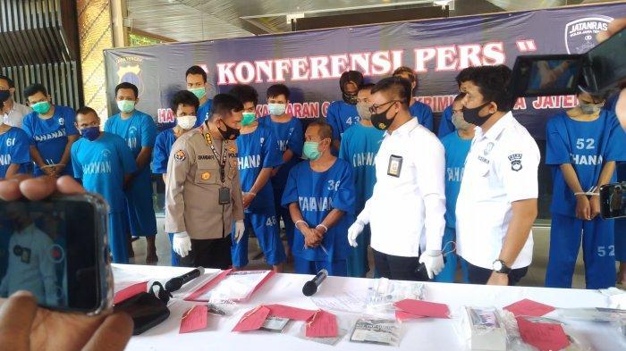 368 Penjahat Berbagai Kasus Tertangkap di Jateng Selama Operasi Sikat Jaran Candi 2020