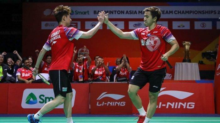 Berikut BWF World Ranking Terbaru Setelah Badminton Asia Team Championship, Marcus/Kevin Posisi Ini