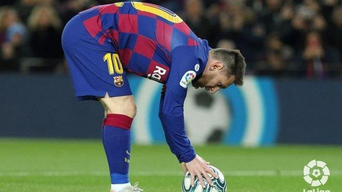 Hasil Liga Spanyol Tadi Malam, Gol Cantik Sang Super Star Lionel Messi Jebol benteng Granada