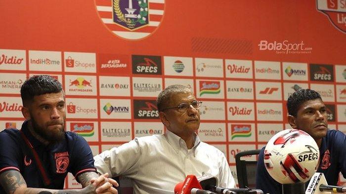 Hasil Liga 1, Hadapi Persija Jakarta, Edson Tavares Anggap Borneo FC Sudah Berada di Jalur Benar