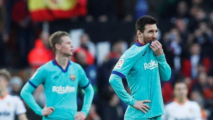 Prediksi, H2H dan Link Live Streaming BeIN Sports 1 Sevilla Vs Barcelona La Liga Spanyol