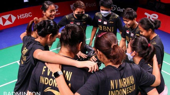 Jadwal Perempat Final Uber Cup 2021 Indonesia Vs Thailand Malam Ini, Waktunya Balas Dendam