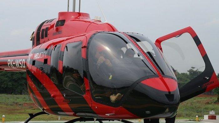 Cobalah Berwisata Gunakan Helikopter, Rute Jakarta-Bandung, Tarif Promo 4 Penumpang Rp 13 Juta