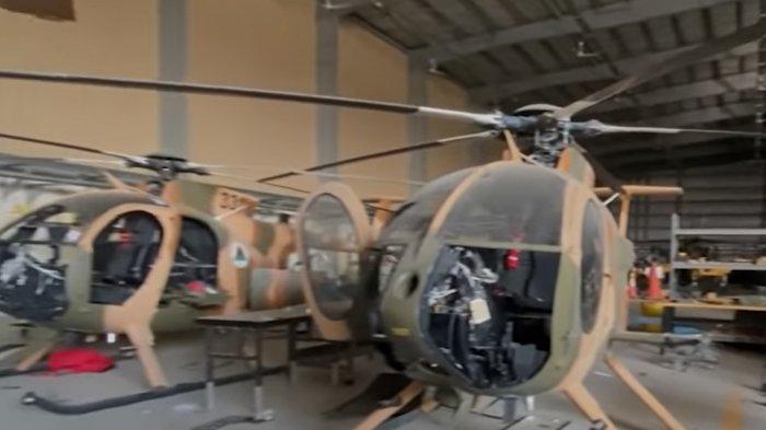 AS Preteli Helikopter Tempur & Pesawat Militer Sebelum Tinggalkan Afghanistan, Taliban Marah