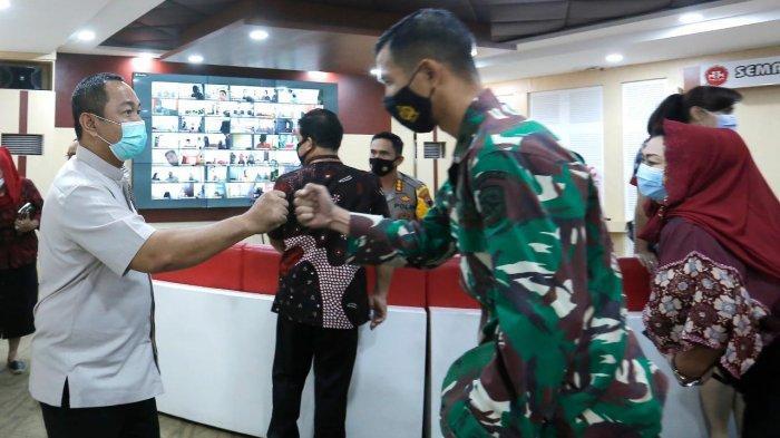 Hendrar Prihadi Wajibkan Pemudik di Kota Semarang Isi Aplikasi Sidatang