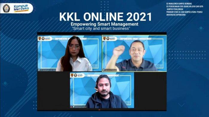 Hendi Apresiasi Inisiasi KKL Online D3 Manajemen PSDKU UNDIP