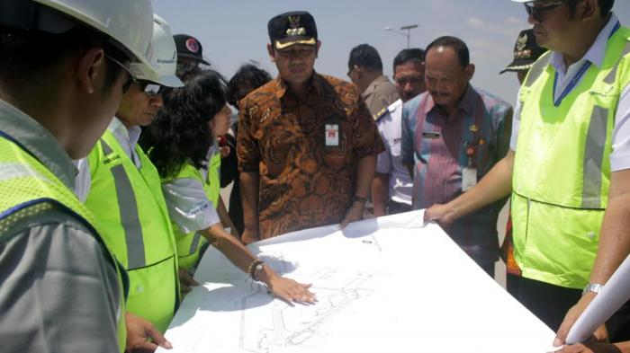 FOTO-FOTO Terkini Proyek Pengembangan Bandara Internasional Ahmad Yani Semarang