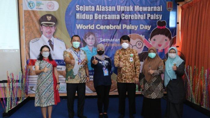 Wali Kota Semarang yang akrab disapa Hendi tersebut saat menghadiri peringatan hari Cerebral Palsy (CP) se-dunia tahun 2021 tingkat Kota Semarang, Senin (11/10).
