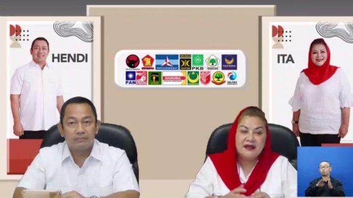 Kembali Seusai Masa Cuti Kampanye Pilwakot Semarang, Hendi-Ita Fokus Penanganan Covid