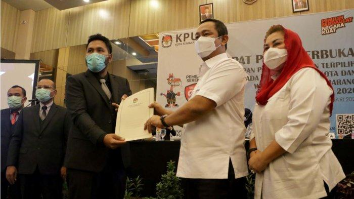 Hendi-Ita Ditetapkan Sebagai Paslon Terpilih Pilwakot Semarang 2020