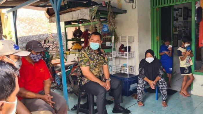 Wali Kota Semarang, Hendrar Prihadi mengobrol dengan Paguyuban Peduli Penyandang Disabilitas, Senin (1/3/2021).