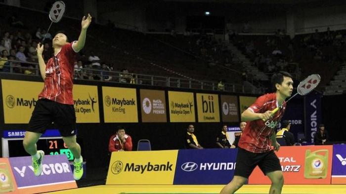 Hasil Final BWF World Tour Finals 2020, The Daddies Hendra/Ahsan Berikan Perlawanan Terbaik